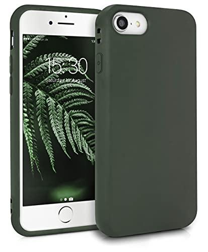 MyGadget Cover per Apple iPhone 7/8 / SE 2020 - Custodia Protettiva in Silicone Morbido – Case TPU Flessibile - Protezione Antiurto & Antigraffio Verde