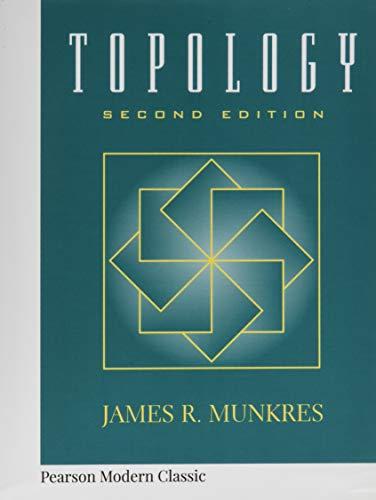 Topology (Classic Version) (Pearson Modern Classics)
