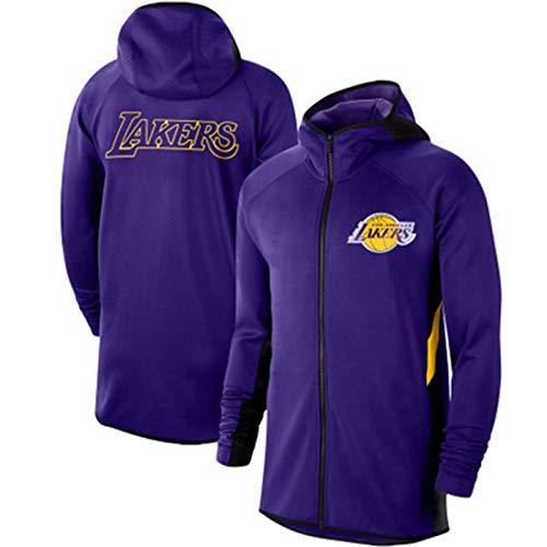 YDYL-LI - Camiseta de baloncesto con capucha para hombre, diseño de Los Angeles Lakers