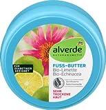 alverde NaturKOSMETIK - Burro per piedi al lime, 1 x 200 ml