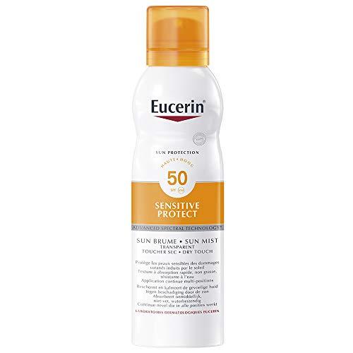 Eucerin Sun Protection Sensitive Protect Brume Transparente Spray SPF50 200 ml