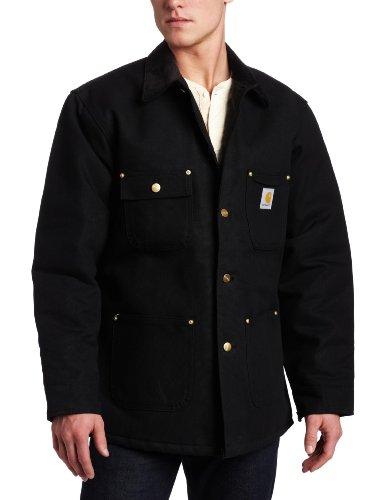 Carhartt Arbeitsjacken Lange Jacken Chore Coat C001, Farbe:schwarz, Größe:XXL
