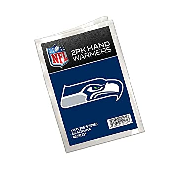 Worthy Promo NFL Seattle Seahawks Winter Hand Warmers 20-Pack  10 Pair  Long Lasting 10-Hour Warmth Air Activated Odorless Gifts for Men Women Tailgating Accessories Stocking Stuffers.