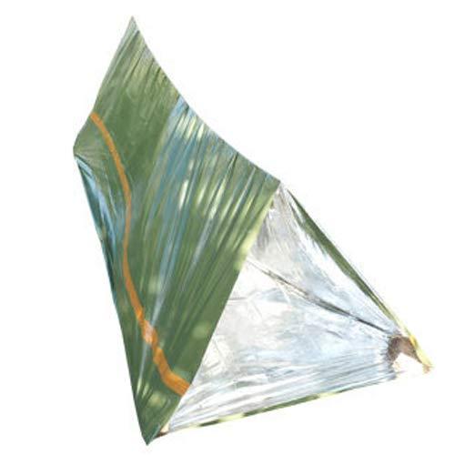 HWCP.CP Tente De Secours Camping en Plein Air Utilisation Répétée De La Tente d'urgence De Premiers Soins Olive Green Grande Taille 1,5 × 2,4 Mètres (3 Paquets)