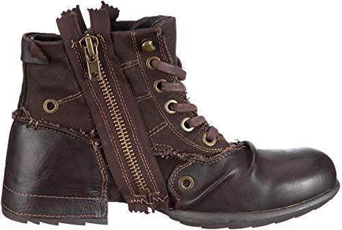 Replay Herren CLUTCH Biker Boots, Braun (DK BRN 18), 42 EU
