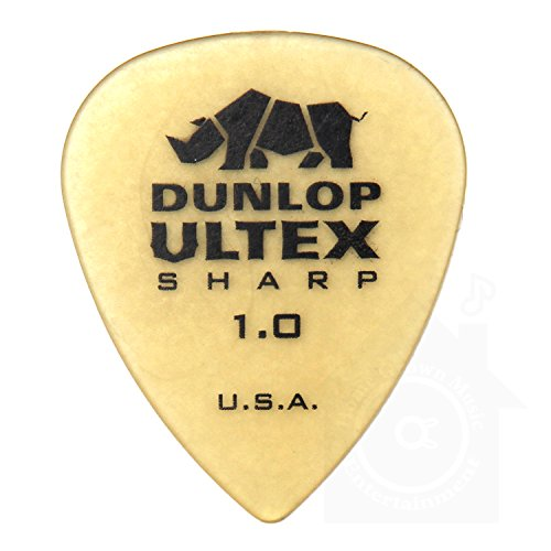 Jim Dunlop『Ultex sharp Triangle Pick 12枚セット(426-100)』