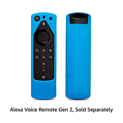 Star Wars The Mandalorian Remote Cover, for Fire TV Alexa Voice Remote Gen 2 (Bounty Blue)