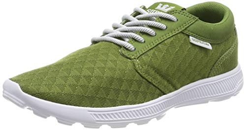 Supra Unisex-Erwachsene Hammer Run Sneaker, Grün (Moss-White 371), 45 EU