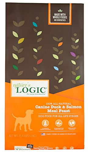 Nature'S Logic Canine Duck & Salmon Meal Feast, 15.4Lb