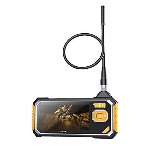 WYP LCD Industrie-Endoskop, 1080P HD Snake Tube Kamera, 4,3 Zoll 8 Mm Wasserdichter Digitaler Hand-Videorecorder Mit 6 LED-Leuchten
