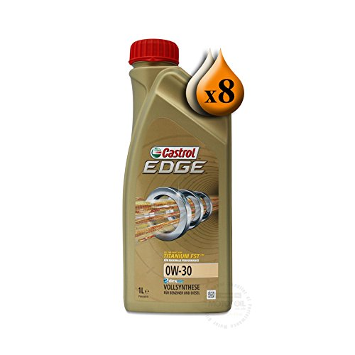 Castrol EDGE FST 0W-301L de titanio (8x 1L)