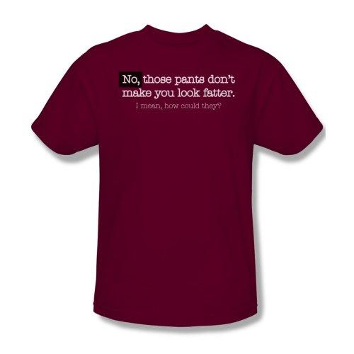 Hosen-Blick Fat - Männer T-Shirt In Cardinal, XXX-Large, Cardinal