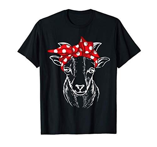Ziegen Landwirtin TShirt | Ziegenhof Ziegenzucht T-Shirt