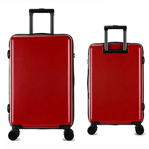 Suitcase Lightweight Set With TSA Lock Rotator Travel Luggage Trolley Suitcase Carry Column Vertical Silent Rotator Multi-directional Aircraft Boarding Travel Luggage Case