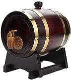 WSVULLD Beer Spensers Barrel de Vino de Madera, dispensador de Barril de Whisky 15L 15L Almacenamiento de Barril Barril Barril Barril, Puede almacenar Cerveza, Licor, Brandy, etc. (Colores múltiples)