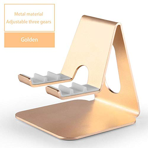 LPYXH tablet support Suitable for adjustable tablet desktop stand 9.7 10.5 inch metal rotating tablet stand mobile phone gold