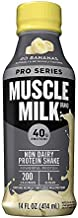 Muscle Milk Pro Series Protein Shake, Go Bananas, 40g Protein, 14 FL OZ, 12 Count
