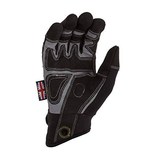Dirty Rigger Riggerhandschuh, Comfort Fit M-Medium schwarz