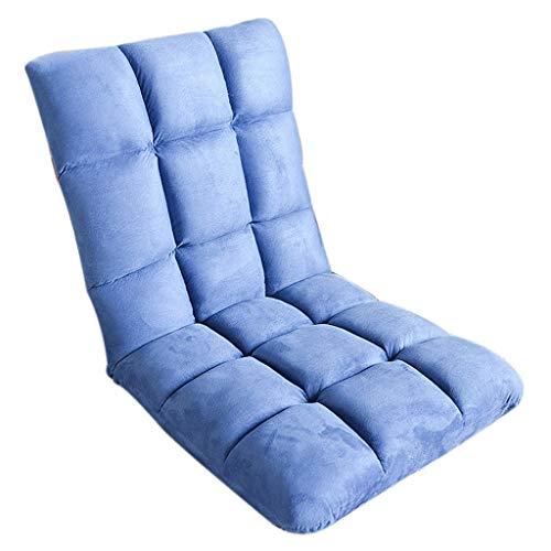 J&Z Sofa Paresseux Pliant Chambre Simple lit Dossier Balcon dortoir étage Petit Fauteuil Lounge,C