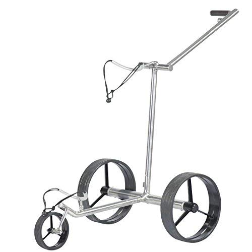 tour made Haicaddy® HC7 Travel PRO Edelstahl Lithium Elektro Golftrolley