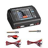 LIPO Cargador AC DC T240 Pantalla táctil Cargador de batería de litio...