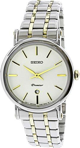 Seiko vrouwen SXB438 zilver roestvrij staal Japanse Quartz Fashion horloge