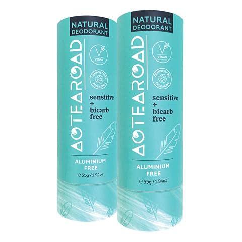 Aotearoad, Desodorante natural eficaz, vainilla sensible, libre de bicarb. Vegano, embalaje ecológico, hecho a mano en NZ