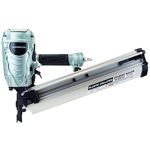 Metabo HPT Framing Nailer, The Pro Preferred Brand of Pneumatic...