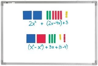 EAI Education Magnetic QuietShape Foam Algebra Tiles - Set of 70