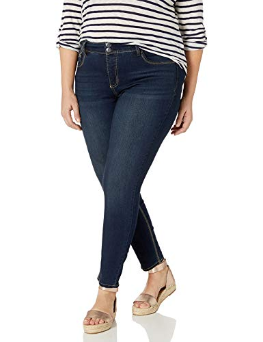 Angels Forever Young Women's Curvy Skinny Jeans, Victoria, 14