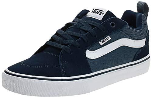 Vans Herren Filmore Suede/Canvas Sneaker, Blau ((Suede Canvas) Dress Blues/Vintage Indigo T2L), 44 EU