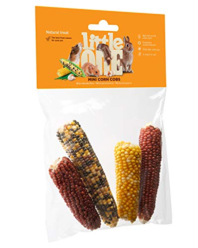 Little One Snack Mini-Maiskolben im Beutel, 4er Pack (4 x 130 g)