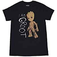 ガーディアンズ・オブ・ギャラクシー グルート GROOT メンズ/レディース Tシャツ 夏服 半袖 シャツ