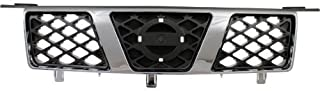Make Auto Parts Manufacturing - X-TRAIL 05-06 GRILLE, Chrome Shell, w/Gray Insert, Canada Built - NI1200238