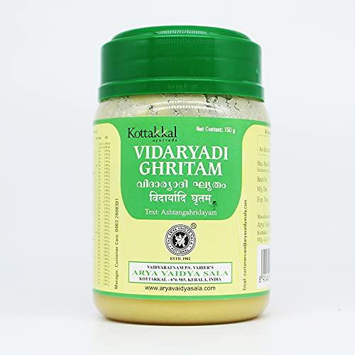 Arya Vaidya Sala Kottakkal Vidaryadi Ghritam WITH Sukanthi Throat Relief Pills