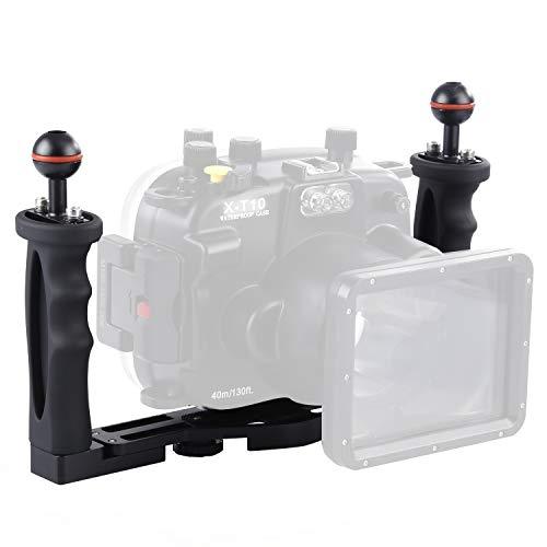 Underwater Camera Tray, Poyinco Aluminium Underwater Tray for Underwater Camera housings