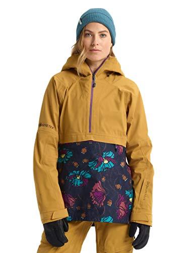 Burton Womens Ak Gore-Tex Kimmy 3L Jacket, Wood Thrush/Bona Flora, Small
