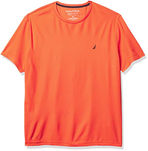 Nautica Navtech Camiseta para hombre, Nautica Navtech - playera para hombre, L, Blanco brillante