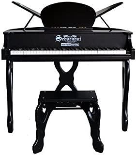 Schoenhut 61 Key Digital Butterfly Piano, Black