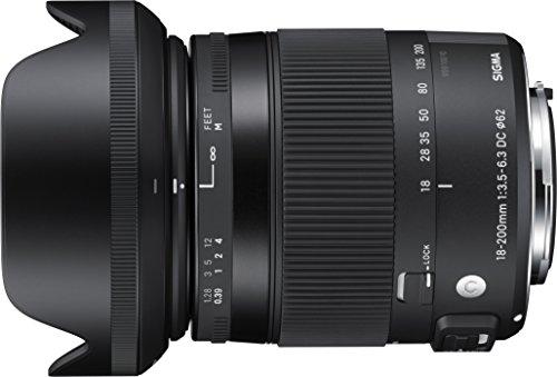SIGMA18-200mmF3.5-6.3DCMACROOSHSM ContemporaryC014 NikonF-DXマウント APS-C/Super35
