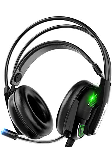 Best Price! Gaming Headset,UNIOJO Stereo PS4 Headset,Xbox One Headset,Professional Wired Gaming Bass...