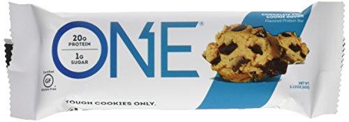 OhYeah Nutrition One al Gusto Choccolate Chip Cookie Dough - Pacco da 12 Barrette x 60 gr - Totale: 720 gr