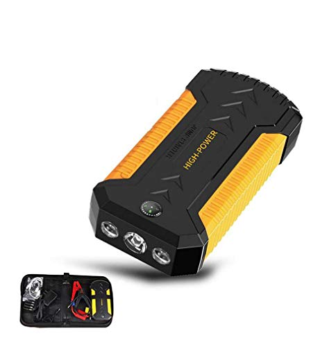 Buy Discount DMQNA Jump Starter,Car Battery Charging Units,12V Auto Jumper Battery Pack with Smart J...