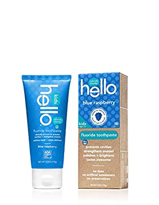 Hello Oral Care Kids ADA Approved SLS Free Fluoride Toothpaste