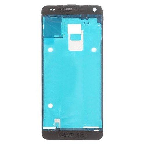 Reemplazo de la Cubierta de la Completa Reemplazo de Placa de Bisel de Marco LCD de cáscara Frontal for HTC One Mini 2 / M8 Mini (Color : Black)