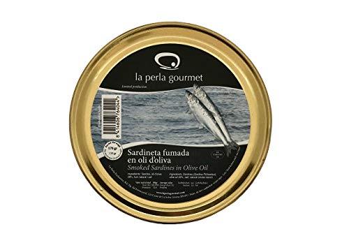 Sardinilla Ahumada en aceite de oliva (170g) pack 3 unidades (510g) La Perla Gourmet