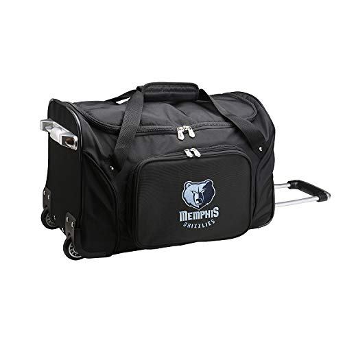 Best Bargain NBA Memphis Grizzlies Wheeled Duffle Bag, 22-inches