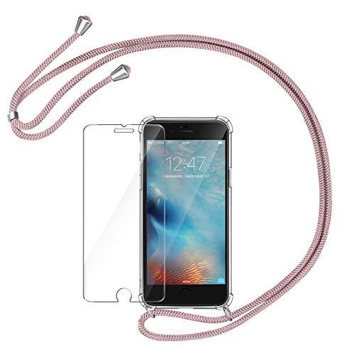 AROYI Funda con Cuerda Compatible con iPhone 6/ 6S y