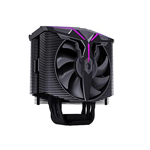 Ventilador de ordenador ARGB CPU enfriador de aire 6 tubos de calor compacto multi-compatible CPU Cooler Sync 16.8 millones de colores 15 direccionable LED PC partes