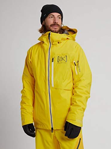 Burton Herren Skijacke AK Gore-tex Helitack Stretch Cyber Yellow Gelb, gelb, XL
